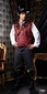 Deluxe Adult Dr. Holmsby Victorian Steampunk Costume