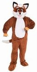 Deluxe Adult Fox Mascot Costume