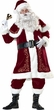 Deluxe Adult Jolly Ole St. Nick Costume