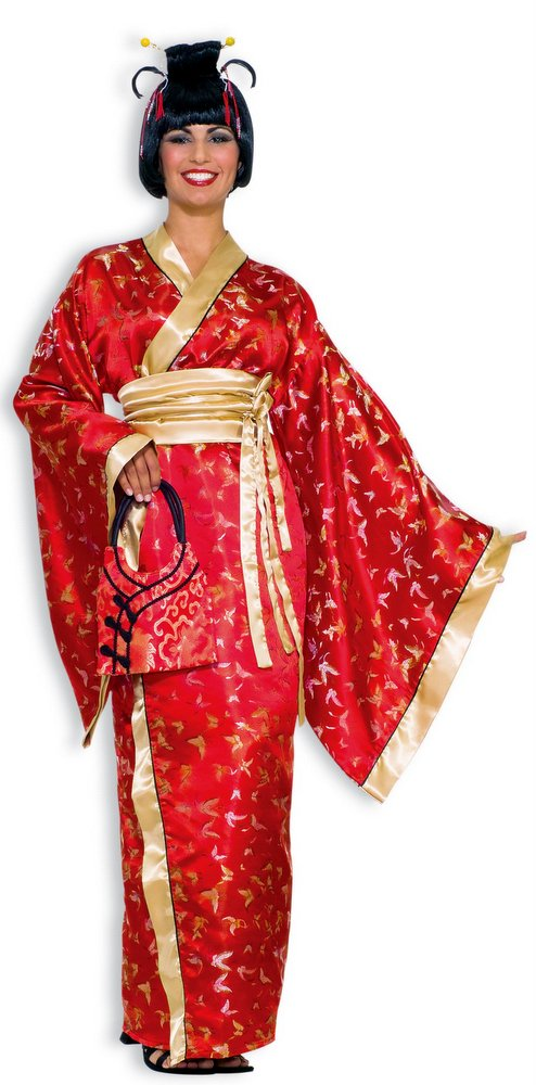 Deluxe Adult Madame Butterfly Costume Size M L