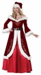 Deluxe Adult Mrs. St. Nick Costume
