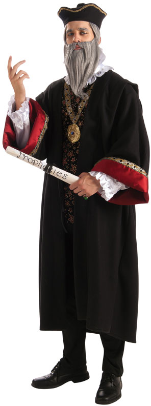 Deluxe Adult Menu0027s Nostradamus Costume Size M/L  sc 1 st  Candy Apple Costumes & Deluxe Adult Nostradamus Costume - Candy Apple Costumes - Castles ...