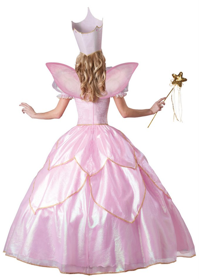 Deluxe Adult Pink Fairy Godmother Or Good Witch Costume Candy