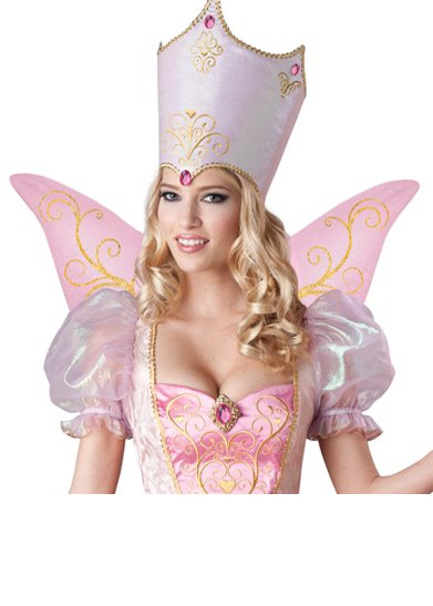 Deluxe Adult Pink Fairy Godmother or Good Witch Costume - Candy ... 3d44c1a1d5