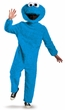 Deluxe Adult Plush Cookie Monster Costume