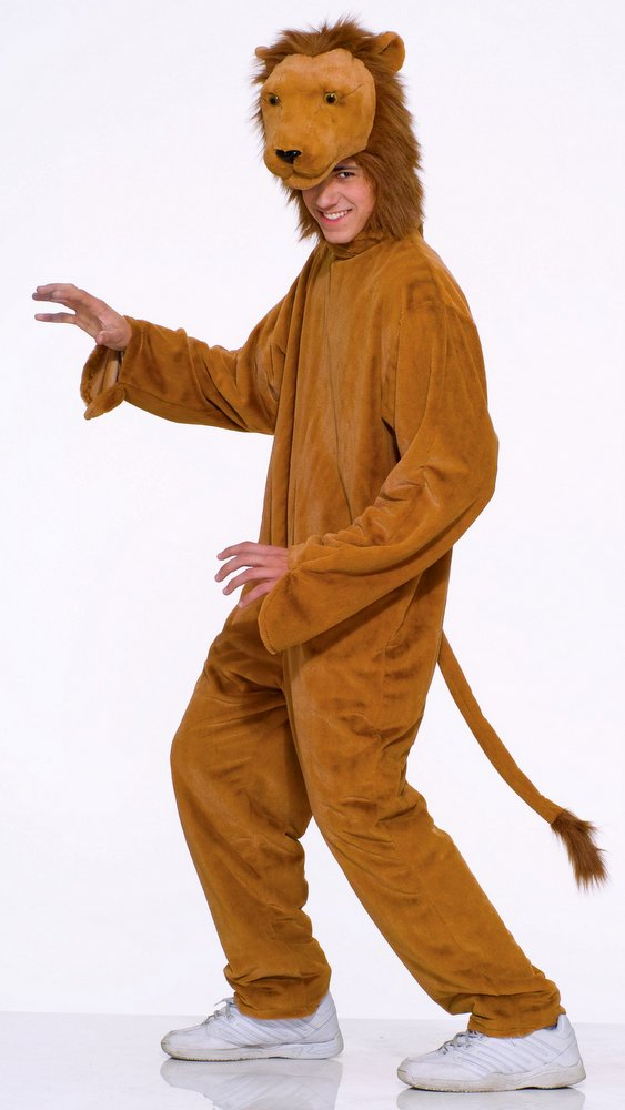 Adult costume lion