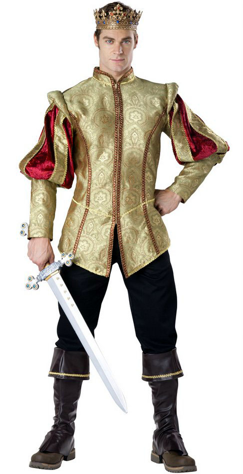 Deluxe Adult Renaissance Prince Costume Candy Apple