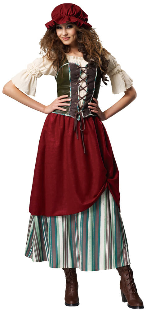 Amazon.com: InCharacter Costumes Women's Pirate's Wench Adult .