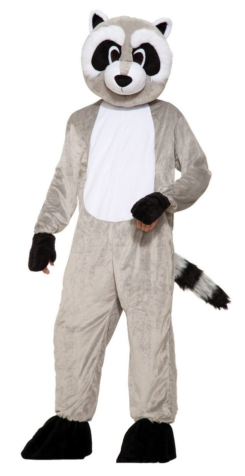 Deluxe Adult Rickey Raccoon Mascot Costume  sc 1 st  Candy Apple Costumes & Deluxe Adult Rickey Raccoon Mascot Costume - Candy Apple Costumes ...