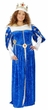Deluxe Adult Royal Blue Queen Costume