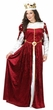 Deluxe Adult Royal Burgundy Queen Costume