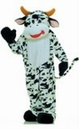 Deluxe Adult Spotted Cow Mascot Costume