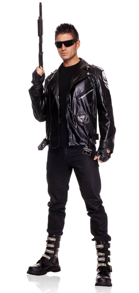 Deluxe Adult Terminator Costume  sc 1 st  Candy Apple Costumes & Deluxe Adult Terminator Costume - Candy Apple Costumes - 80u0027s Costumes