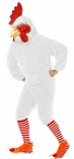 Deluxe Adult White Rocking Rooster Costume With Mask