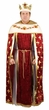 Deluxe Adult Wine Royal King Costume