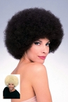 Deluxe Afro Wig - Brown or Blonde