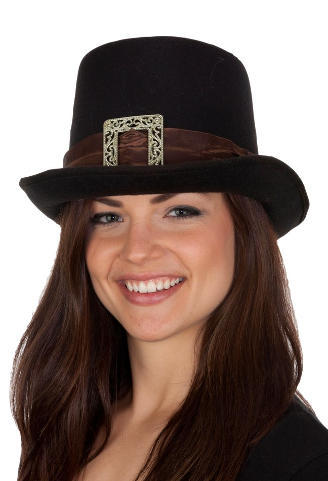Deluxe Black Pilgrim Hat - Candy Apple Costumes - Colonial Costumes 592dbfce31a