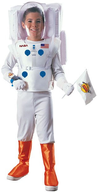 Deluxe Child's Astronaut Costume - Candy Apple Costumes - Sale