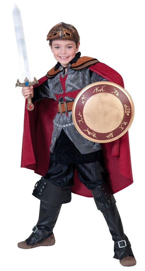 Deluxe Child Size Sir Rouge Knight Costume  sc 1 st  Candy Apple Costumes & Deluxe Child Size Sir Rouge Knight Costume - Candy Apple Costumes ...