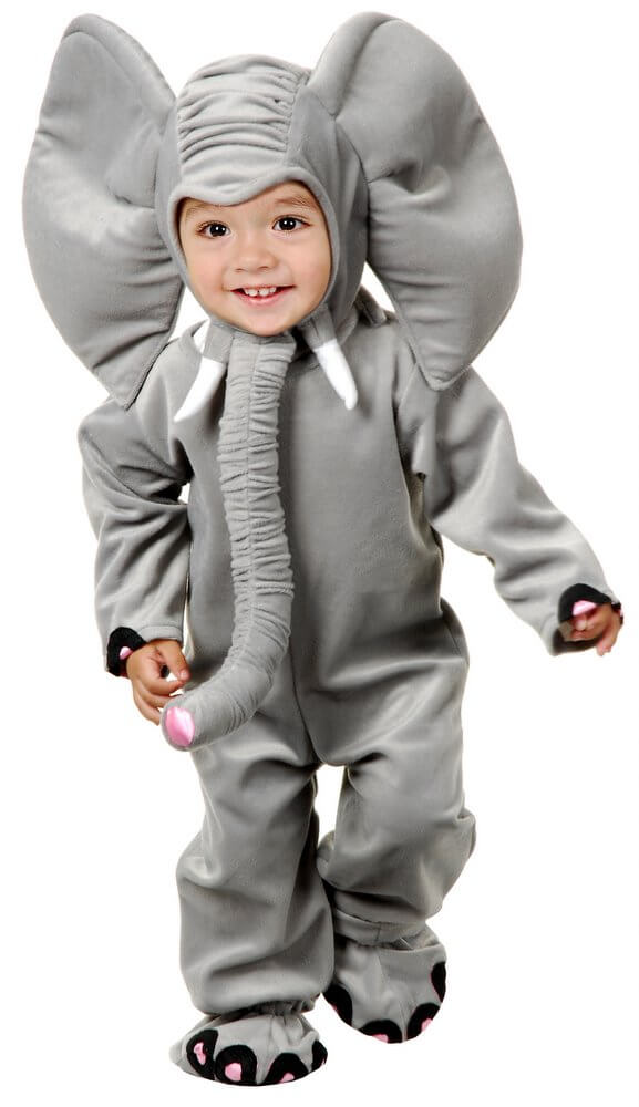 65ee0058c28b Deluxe Child Toddler Plush Elephant Costume - Candy Apple ...