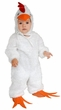 Deluxe Child/Toddler Plush White Chicken Costume
