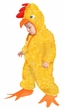 Deluxe Child/Toddler Plush Yellow Chicken Costume