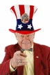 Deluxe Democrat Uncle Sam Hat
