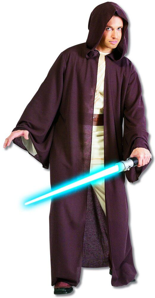 Deluxe Jedi Robe - Star Wars  sc 1 st  Candy Apple Costumes & Deluxe Jedi Robe - Star Wars - Candy Apple Costumes - 3X and 4X Costumes