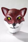 Deluxe Latex Red Fox Mask