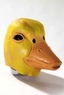 Deluxe Latex Yellow Duck Mask