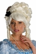 Deluxe Marie Antoinette Wig With Roses