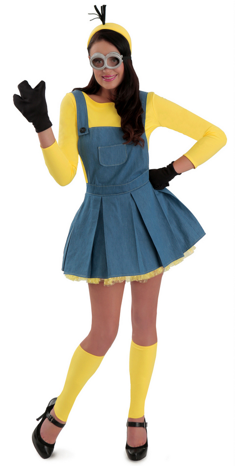 0649cb58b43 Deluxe Minions Women s Jumper Costume - Candy Apple Costumes ...