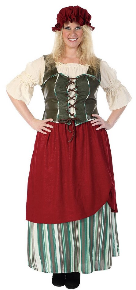 Deluxe Plus Size Adult Renaissance Tavern Wench Costume  sc 1 st  Candy Apple Costumes & Plus Size Renaissance Tavern Wench Deluxe Costume - Candy Apple ...