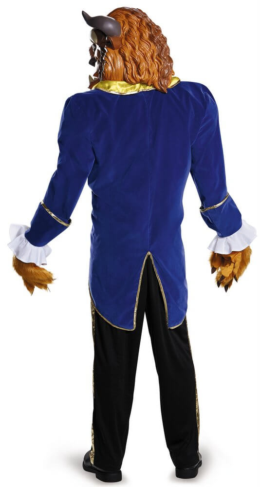 ... Deluxe Plus Size Beast Costume - Beauty and the Beast  sc 1 st  Candy Apple Costumes : beauty beast costume  - Germanpascual.Com