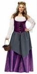 Deluxe Plus Size Renaissance Tavern Wench Costume