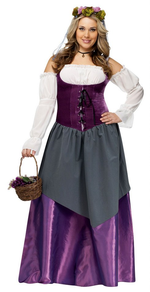 43979e1d171f6 Deluxe Plus Size Renaissance Tavern Wench Costume Sc 1 St Candy Apple  Costumes