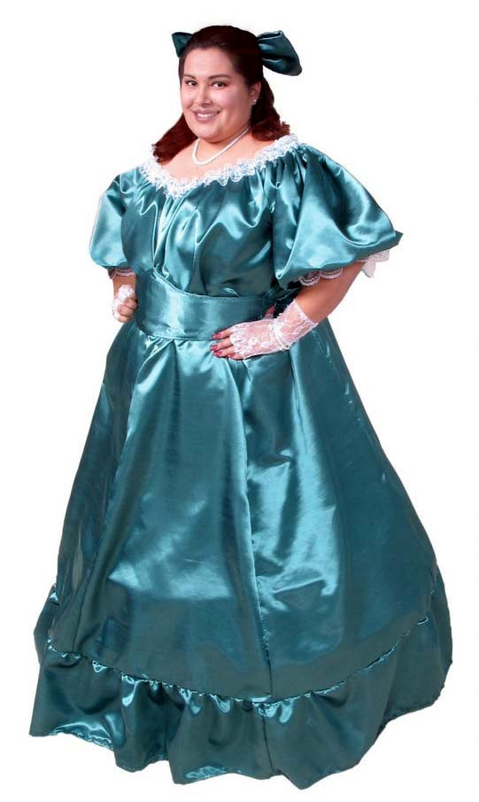 Deluxe Plus Size Southern Belle Costume