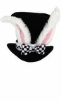 Deluxe White Rabbit Top Hat