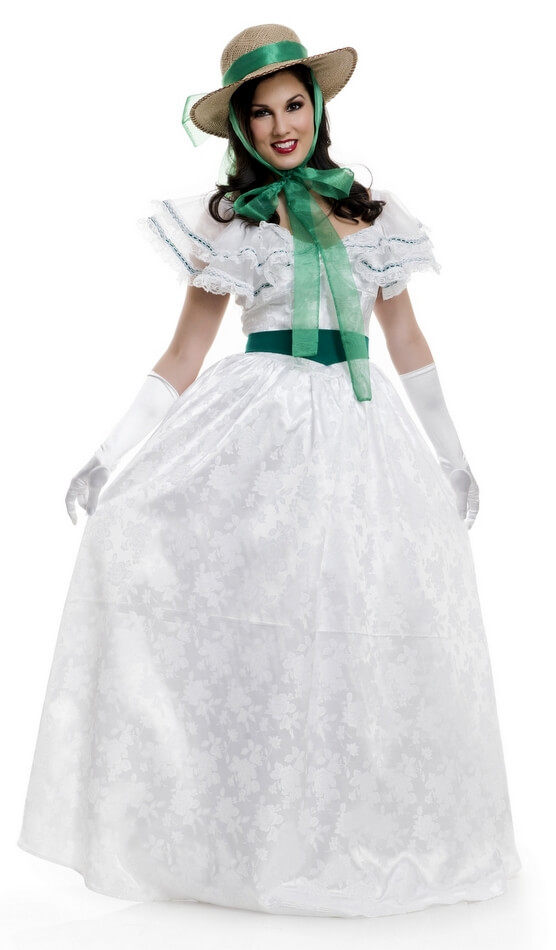 Deluxe Women\'s Georgia Southern Belle Costume - Gone With the Wind ...