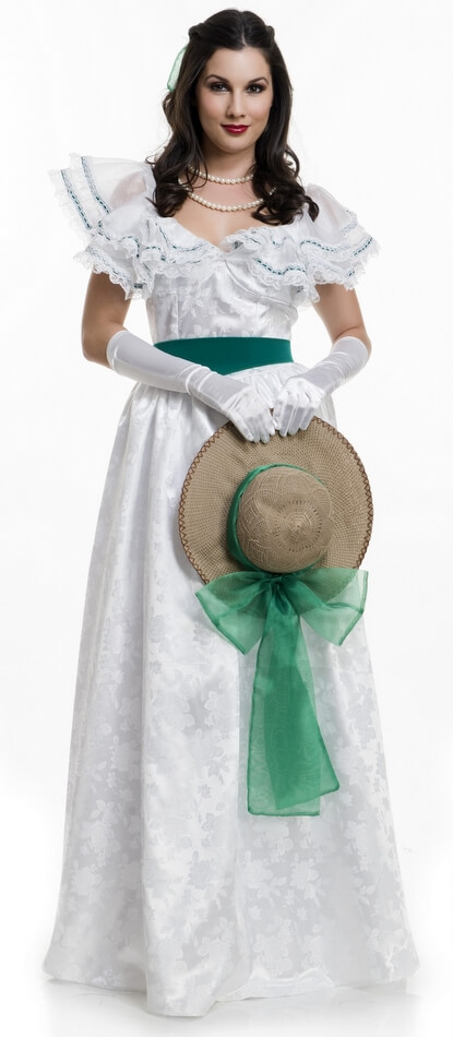 Belle S Diary Bohemian Style: Deluxe Women's Georgia Southern Belle Costume