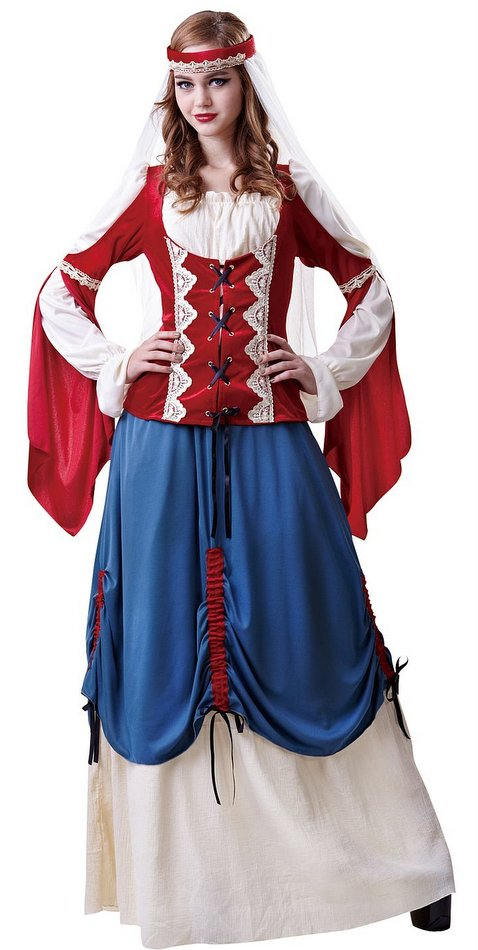 Deluxe Womenu0027s Medieval Forest Wench Costume  sc 1 st  Candy Apple Costumes & Deluxe Womenu0027s Medieval Forest Wench Costume - Candy Apple Costumes ...