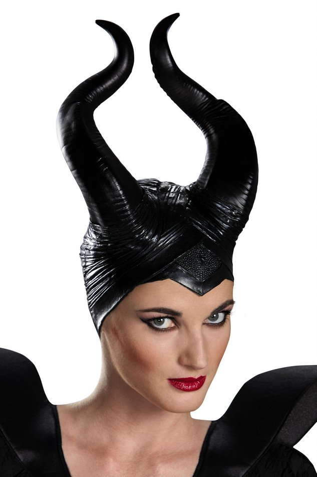 Disney Maleficent Deluxe Horns Headpiece - Candy Apple ... Disney Villain Costumes For Adults