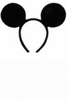 Disney Mickey Mouse Ears Headband