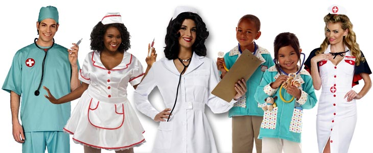 Doctor and Nurse Costumes