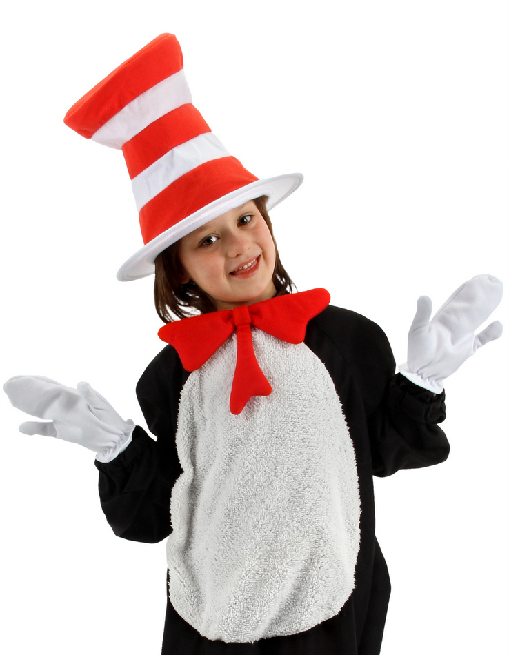 Dr. Seuss Cat in the Hat Kidsu0027 Costume Kit  sc 1 st  Candy Apple Costumes & Dr. Seuss Cat in the Hat Kidsu0027 Costume Kit - Candy Apple Costumes ...