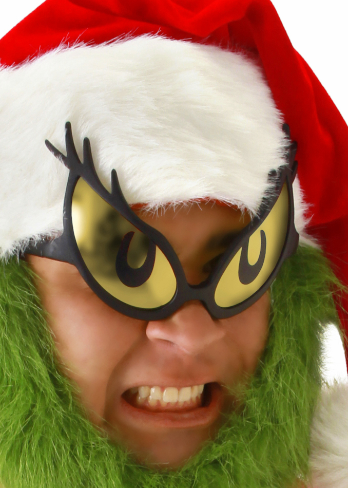 Dr. Seuss Grinch Glasses & Dr. Seuss Grinch Glasses - Candy Apple Costumes - Pop Culture