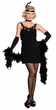Dreamgirl All That Jazz Black Flapper Costume