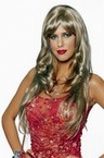 Dreamgirl Deluxe Honey Blonde Wig