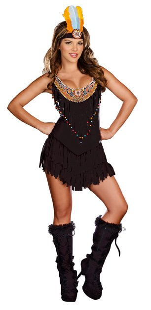 d272ac26815 Dreamgirl Reservation Royalty Sexy Native American Costume - Pop ...