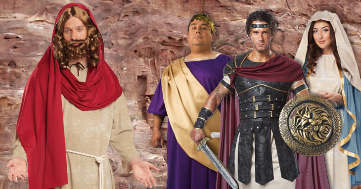 Biblical Costumes for Easter Pageants